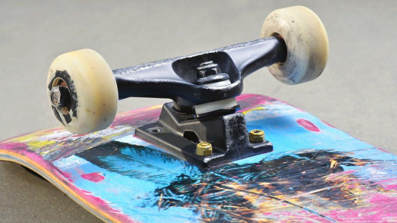 """Set of 2 8.5/"""" Axle Tensor Trucks All Terrain Mag Light Skateboard Trucks"""