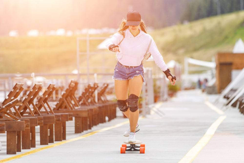 The longboards do be easier to ride because of its extra length, heft, and wheelbase