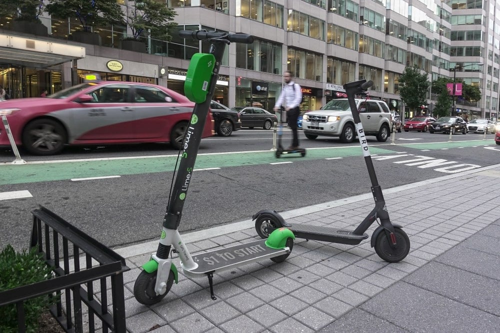 The expensive scooter