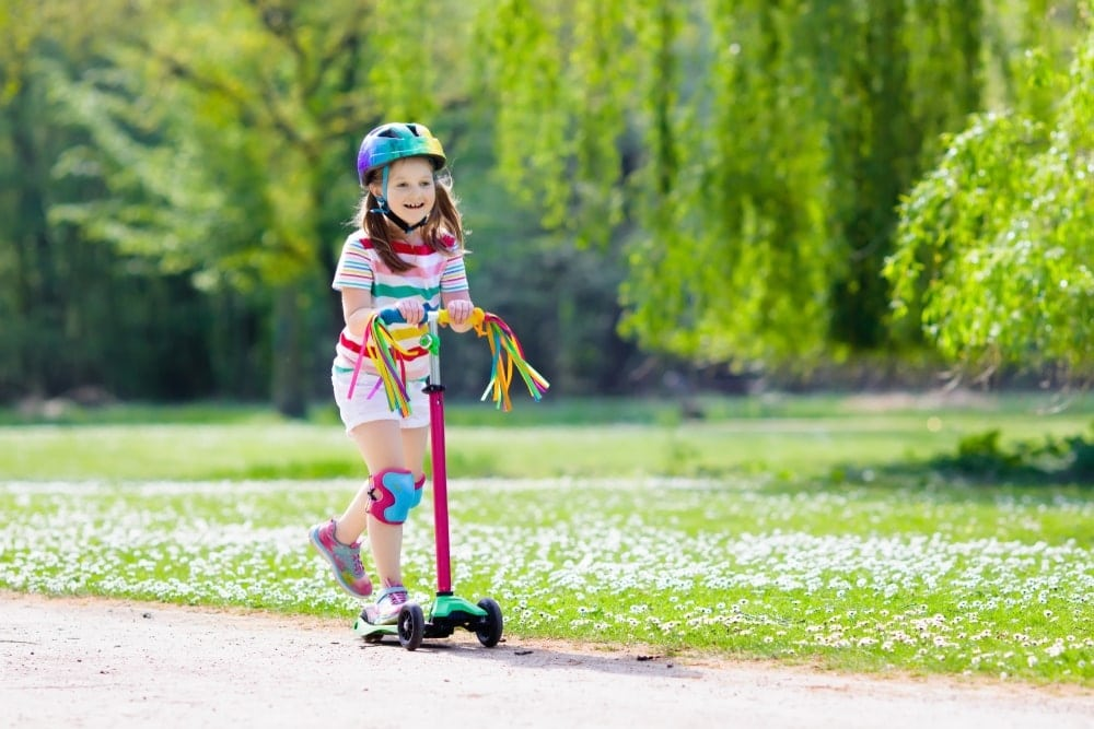 Deluxe toddler scooter
